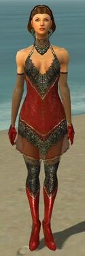 Mesmer Elite Enchanter Armor F dyed front