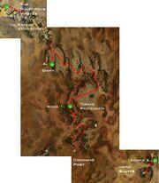 Crossing the Desolation map