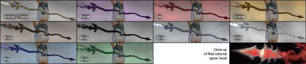 Draconic Spear colored