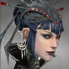 File:Necromancer Elite Canthan Armor F gray earrings.jpg