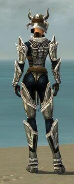 Warrior Elite Sunspear Armor F dyed back