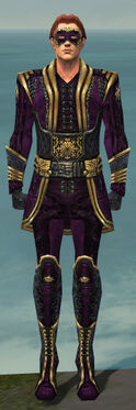 Mesmer Sunspear Armor M dyed front
