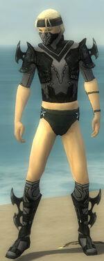 Assassin Kurzick Armor M gray chest feet front