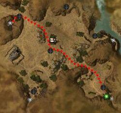 Centaur Blackmail map
