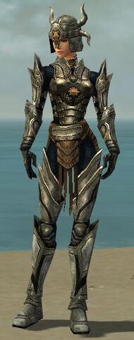 File:Warrior Elite Sunspear Armor F gray front.jpg