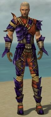 Ranger Elite Drakescale Armor M dyed front