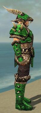Warrior Elite Charr Hide Armor M dyed side