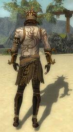 Razah Mysterious armor Back