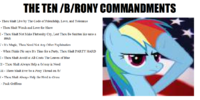 The 10 Pony Commandments of b