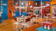 Ocean cafe interior