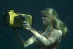 Rikki Filming Sharks