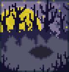 Background harvest moon