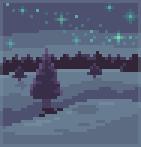 Background winter night