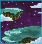 Background floating islands