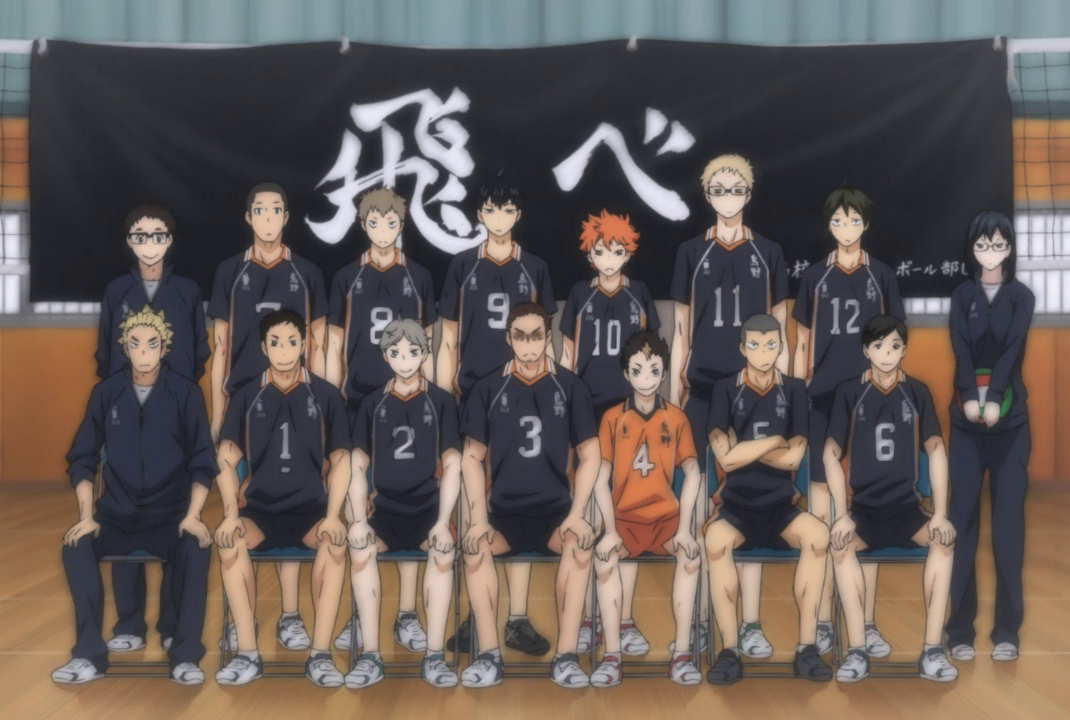 Image result for haikyuu training