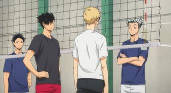 Episode 7- Bokuto, Akaashi, Kuroo and Tsukishima