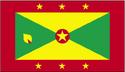 Grenada flag large