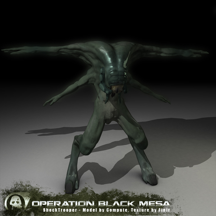 Image shock trooper half life wiki fandom for Operation black mesa download