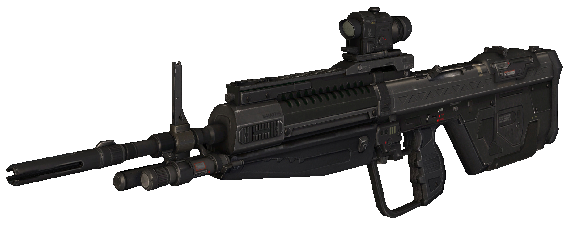 M395 Designated Marksman Rifle (Halo 4) | Gunfaceoff Wiki | Fandom ...