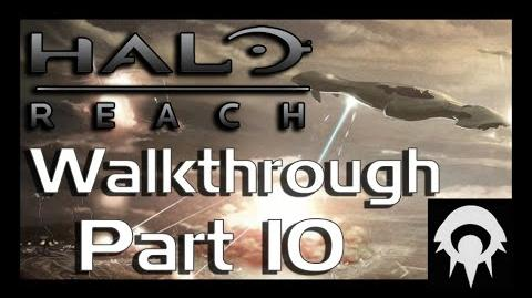 Halo- Reach Walkthrough - Part 10 - The Package - No Commentary