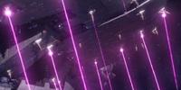 Pulse laser turret
