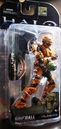 Grifball Spartan In Packaging Front