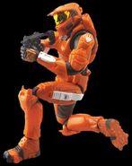 X spartan orange