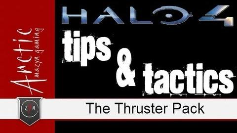 Halo 4 Tips and Tactics - The Thruster Pack (Best Armor Abilities)