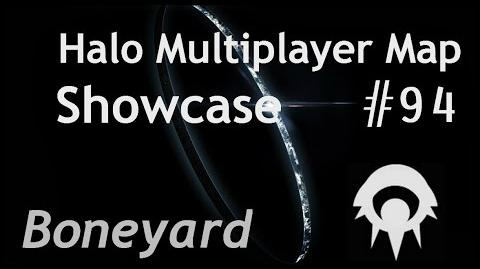 Halo Multiplayer Maps -94 - Halo Reach- Boneyard