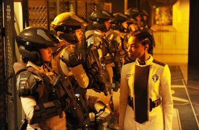 Cadet Inspection
