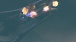 Corvette Destroyed