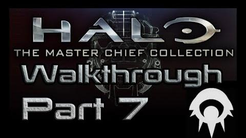 Halo- The Master Chief Collection Walkthrough - Part 7 - The Library