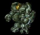 HRUNTING Mark III (B) Exoskeleton