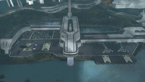 HaloReach - New Alexandria Spaceport