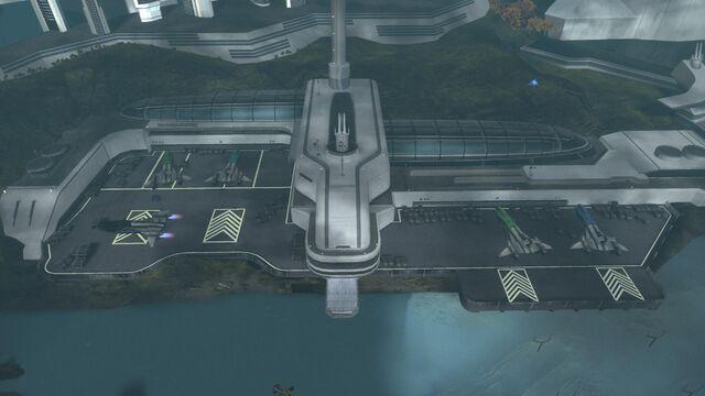 File:HaloReach - New Alexandria Spaceport.jpg