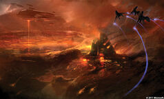 Halo Art Of Building Worlds Reach Sword Base