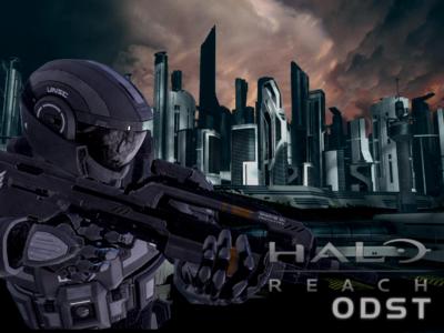 Halo Reach ODST Mockup