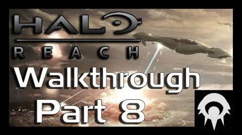 Halo- Reach Walkthrough - Part 8 - Exodus - No Commentary