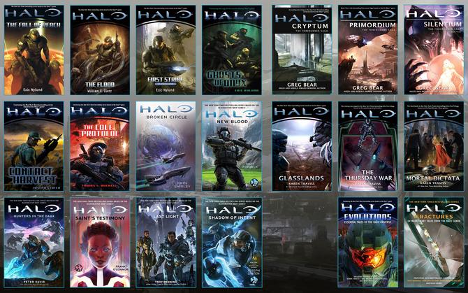 Halo Novels