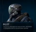 Pilot Helmet Side view