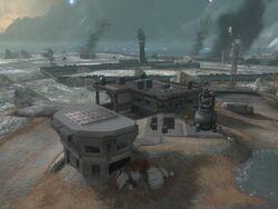 Halo Reach - Fairview Base