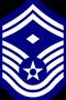 UNSC-AF E-8 First Sergeant