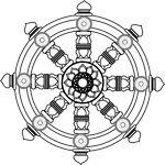 Buddhist emblem