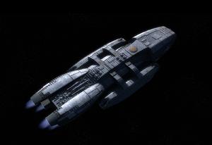 Galactica dorsal