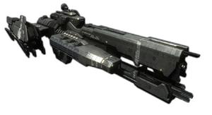 HaloReach - UNSCFrigate