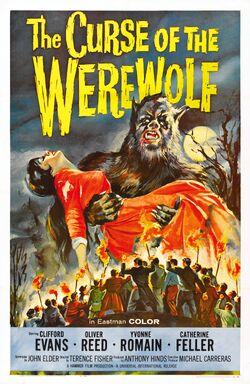 Curse of werewolf poster 01
