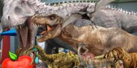 Happy Appy Goes to Jurassic world