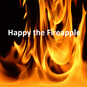 Happy the Fireapple Title card