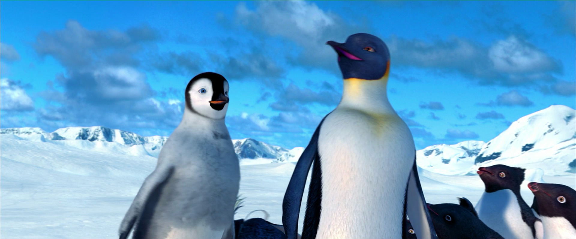 Happy Feet Mumble And Gloria Gloria decides to come with