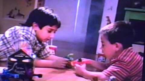 September 2001 McDonald's Happy Meal TV commercial - Bionicle toys for boys